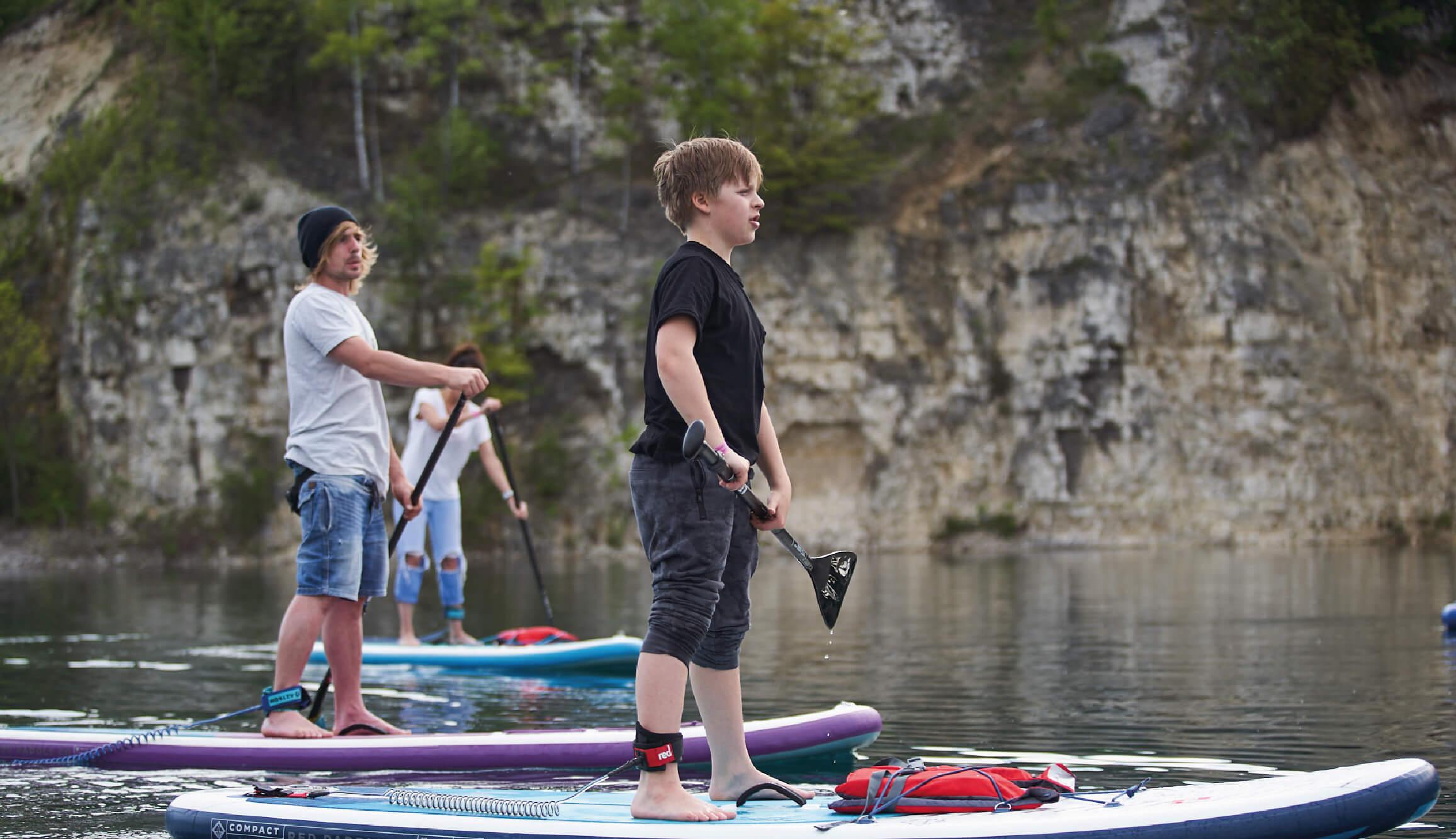deska sup szkolenie start wypożyczalnia instruktor stand up paddle