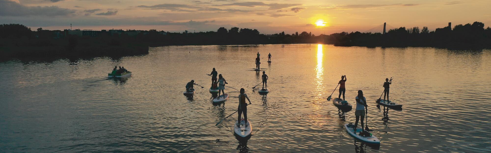 Deska SUP Kraków szkolenia Stand Up Paddle wioslo