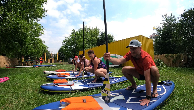 sup szkolenie start stand up paddle jak zaczac krakow